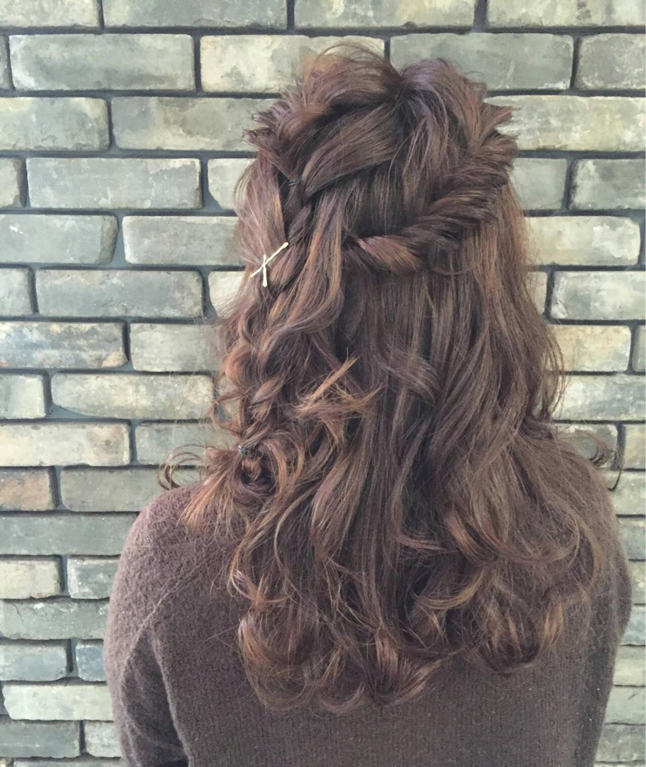 ショート 外国人風 ミディアム 簡単ヘアアレンジヘアスタイルや髪型の写真・画像