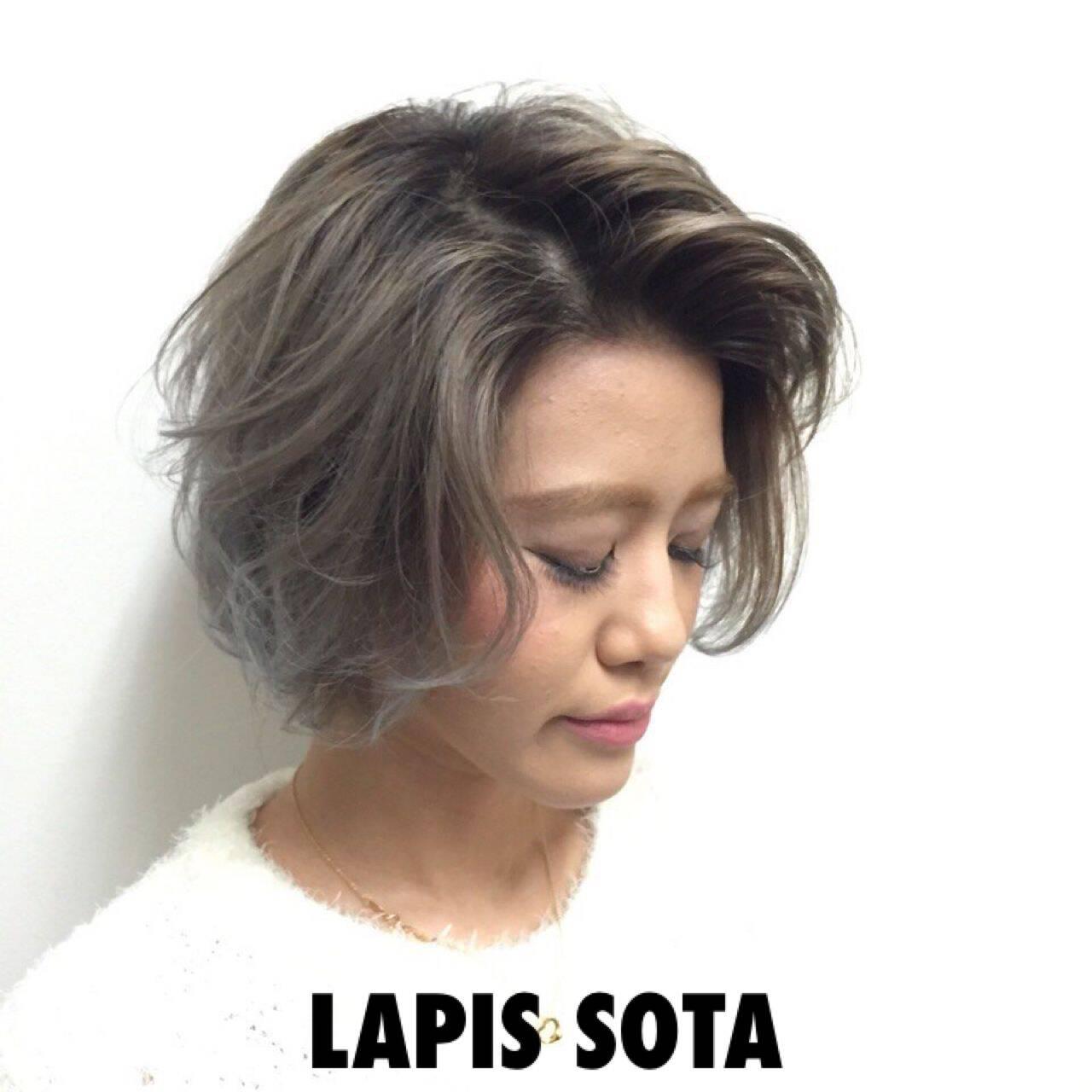 ハイトーン ストリート 渋谷系 メッシュヘアスタイルや髪型の写真・画像