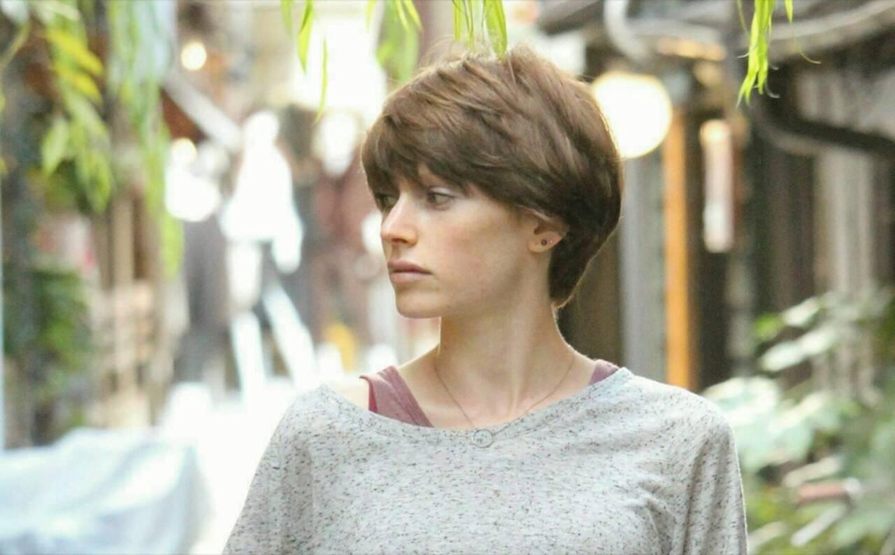 フェミニン ショート ベリーショート 透明感ヘアスタイルや髪型の写真・画像