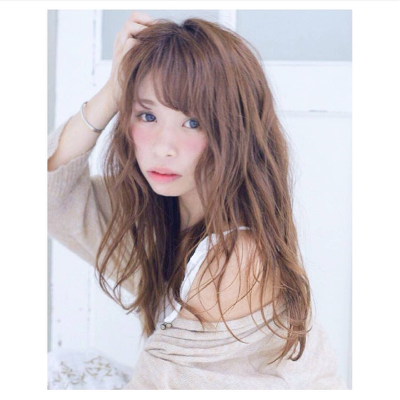 ニュアンス フェミニン ガーリー 大人女子ヘアスタイルや髪型の写真・画像