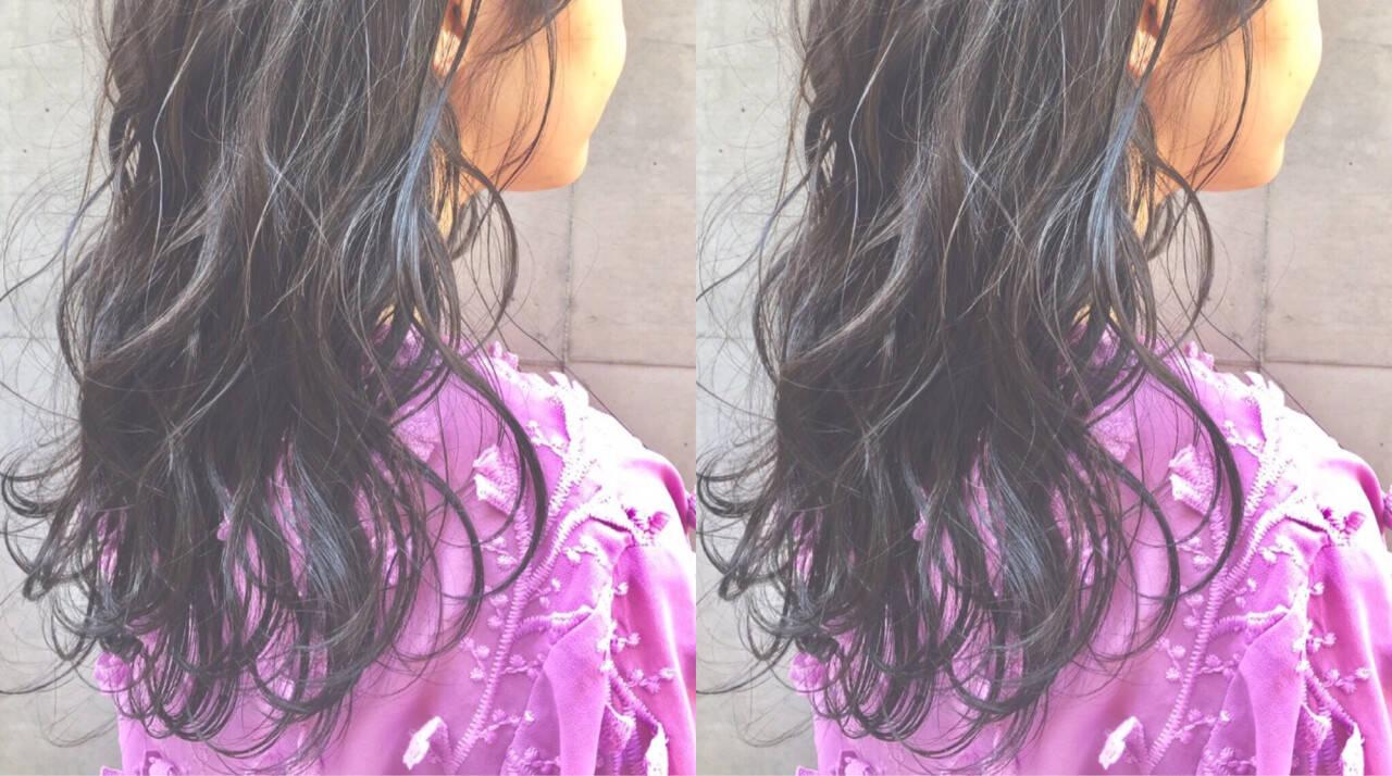 黒髪 フェミニン 女子会 デートヘアスタイルや髪型の写真・画像