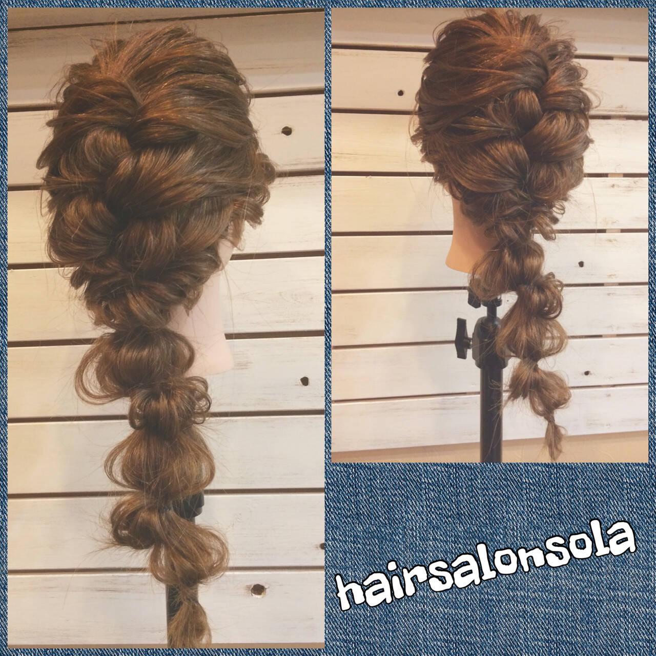 ロング ヘアアレンジ ゆるふわ 大人かわいいヘアスタイルや髪型の写真・画像