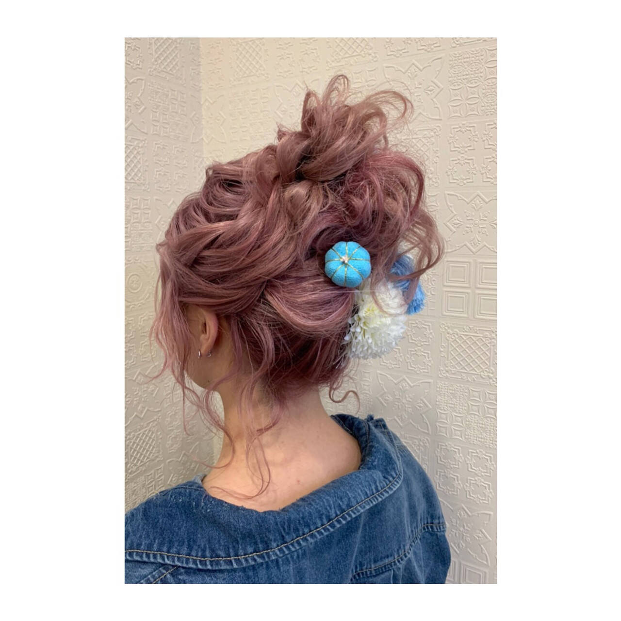 ブリーチ ガーリー 福岡市 成人式ヘアヘアスタイルや髪型の写真・画像