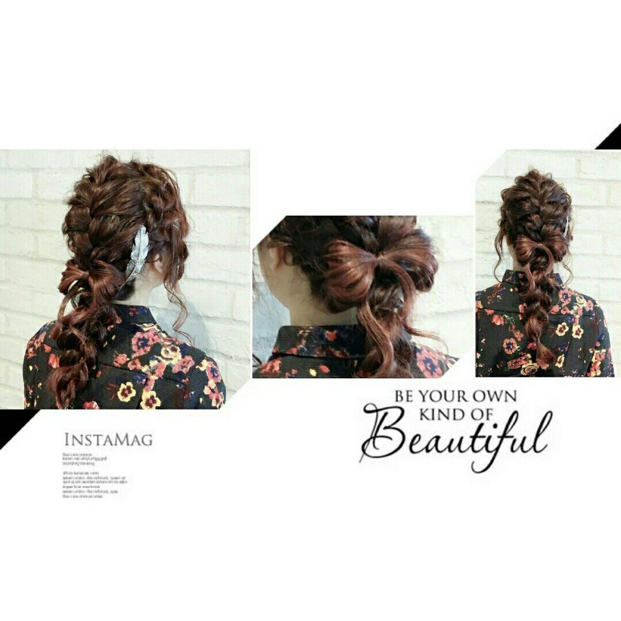 ヘアアレンジ 春 外国人風 ストリートヘアスタイルや髪型の写真・画像