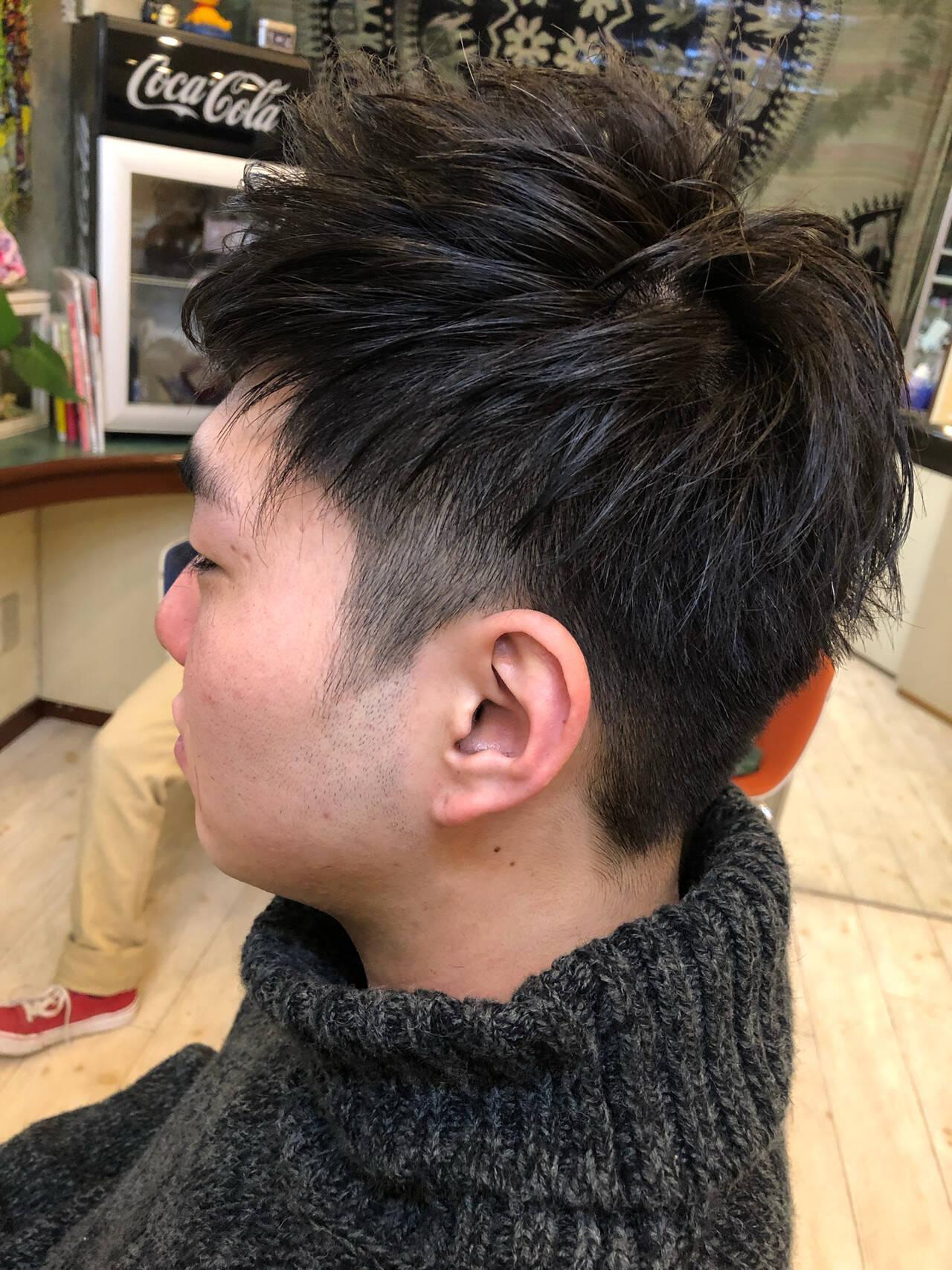 メンズ フェミニン メンズカジュアル 成人式ヘアスタイルや髪型の写真・画像