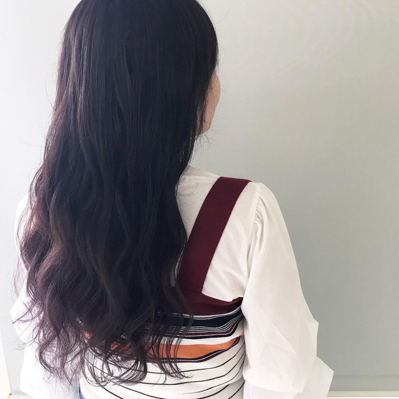ロング 大人かわいい ヘアアレンジ ナチュラルヘアスタイルや髪型の写真・画像