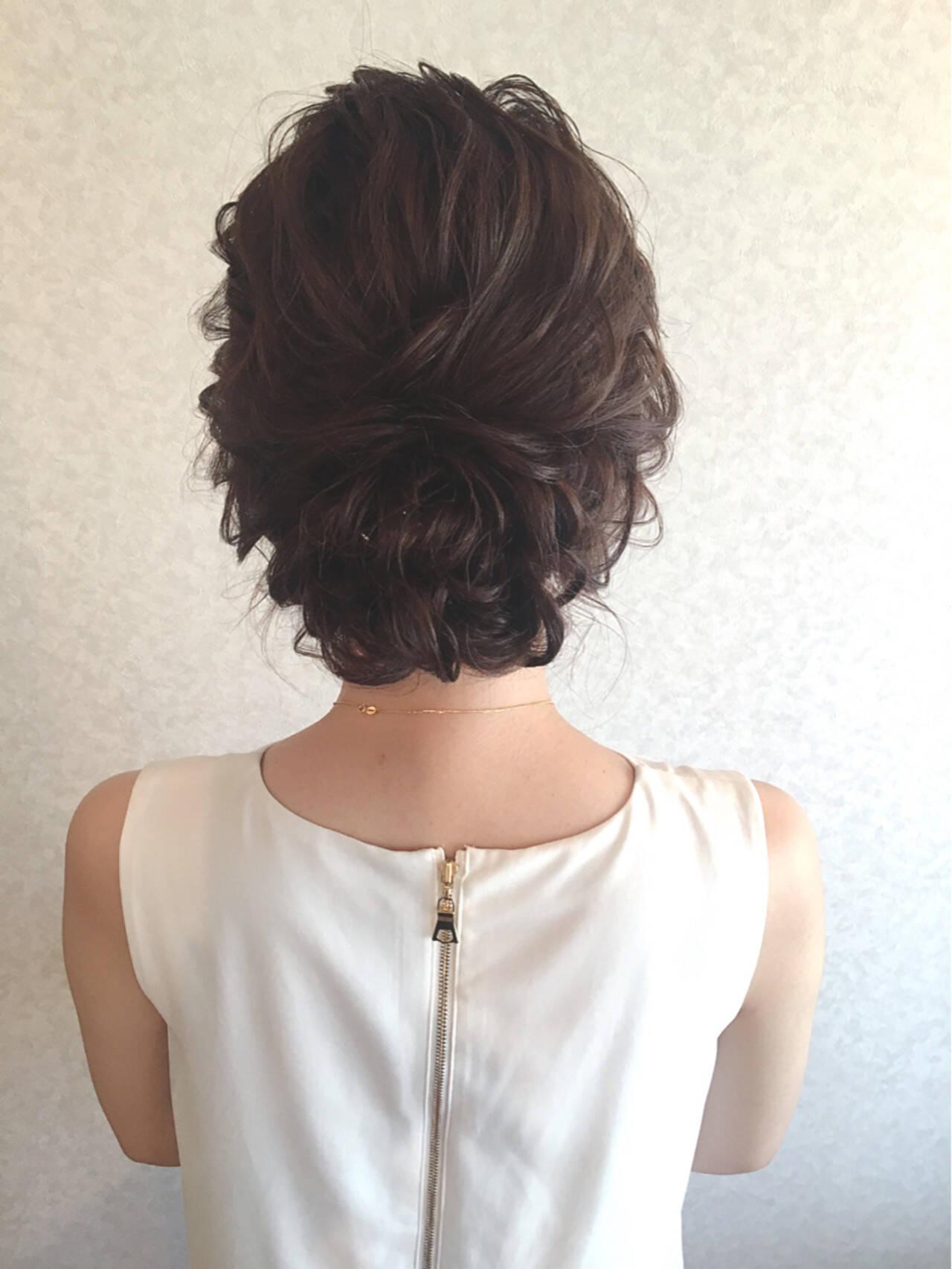 ロング デート 女子会 結婚式ヘアスタイルや髪型の写真・画像