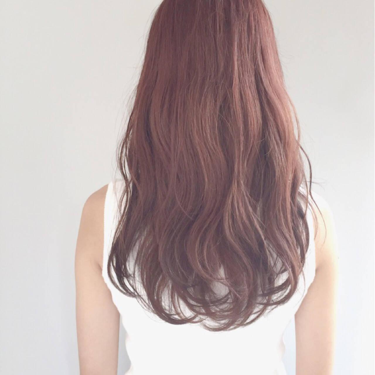 カール ガーリー ロング ゆるふわヘアスタイルや髪型の写真・画像