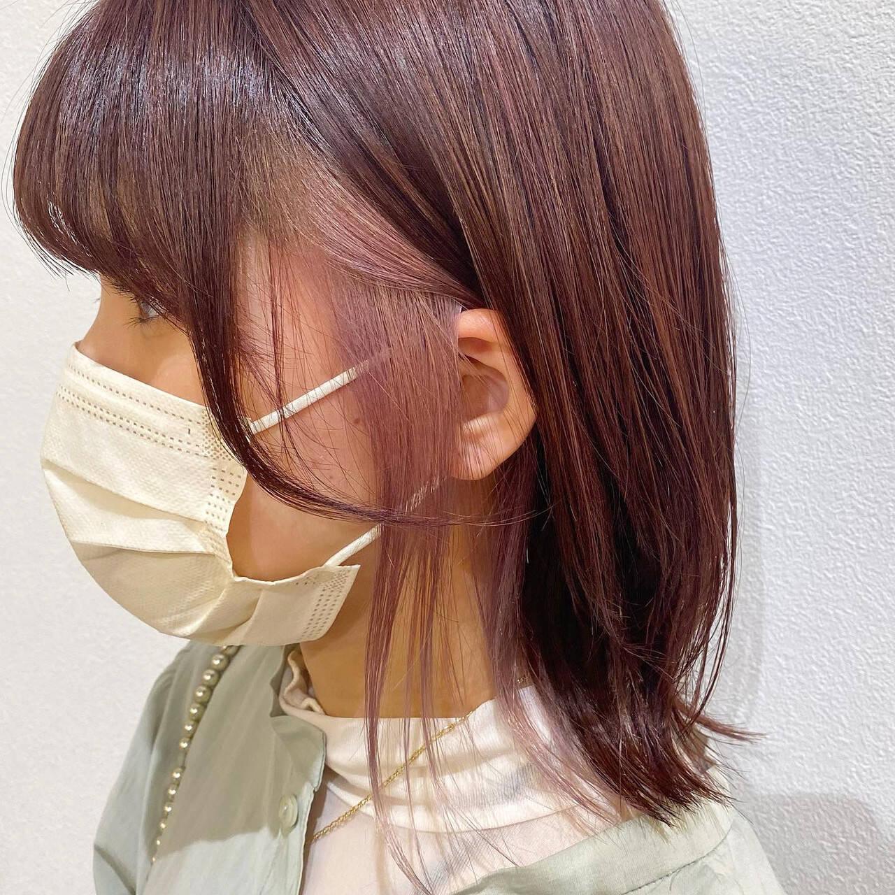 ガーリー ボブヘアスタイルや髪型の写真・画像