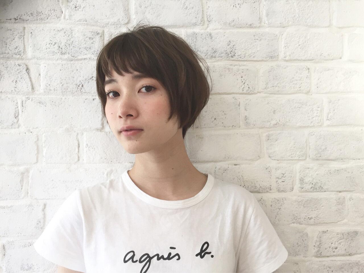 秋 大人女子 小顔 ナチュラルヘアスタイルや髪型の写真・画像