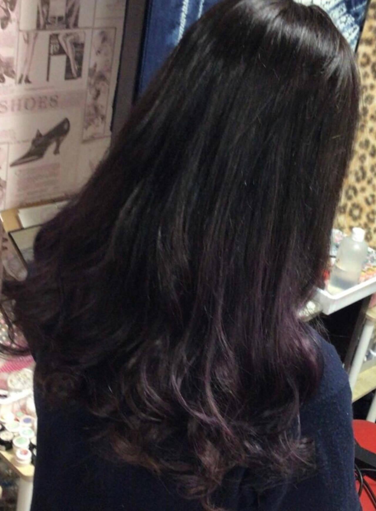 フェミニン ホワイトグラデーション ナチュラルグラデーション グラデーションヘアスタイルや髪型の写真・画像