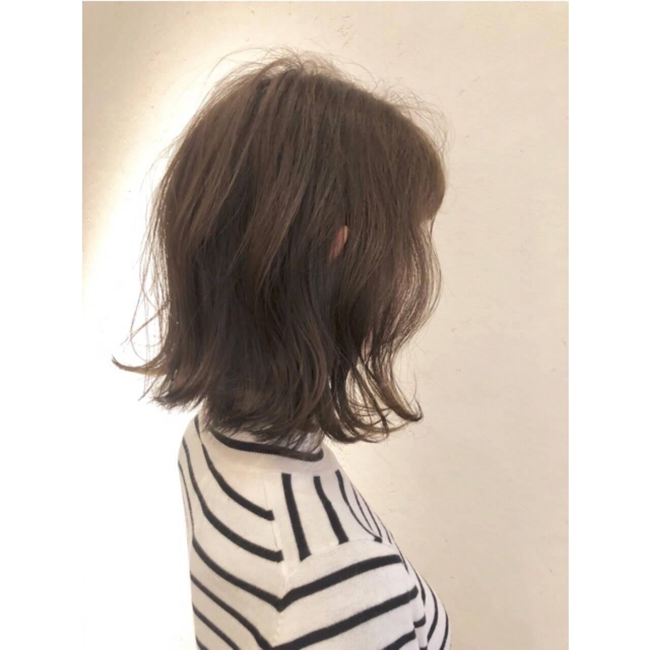 ナチュラル 大人女子 こなれ感 ボブヘアスタイルや髪型の写真・画像