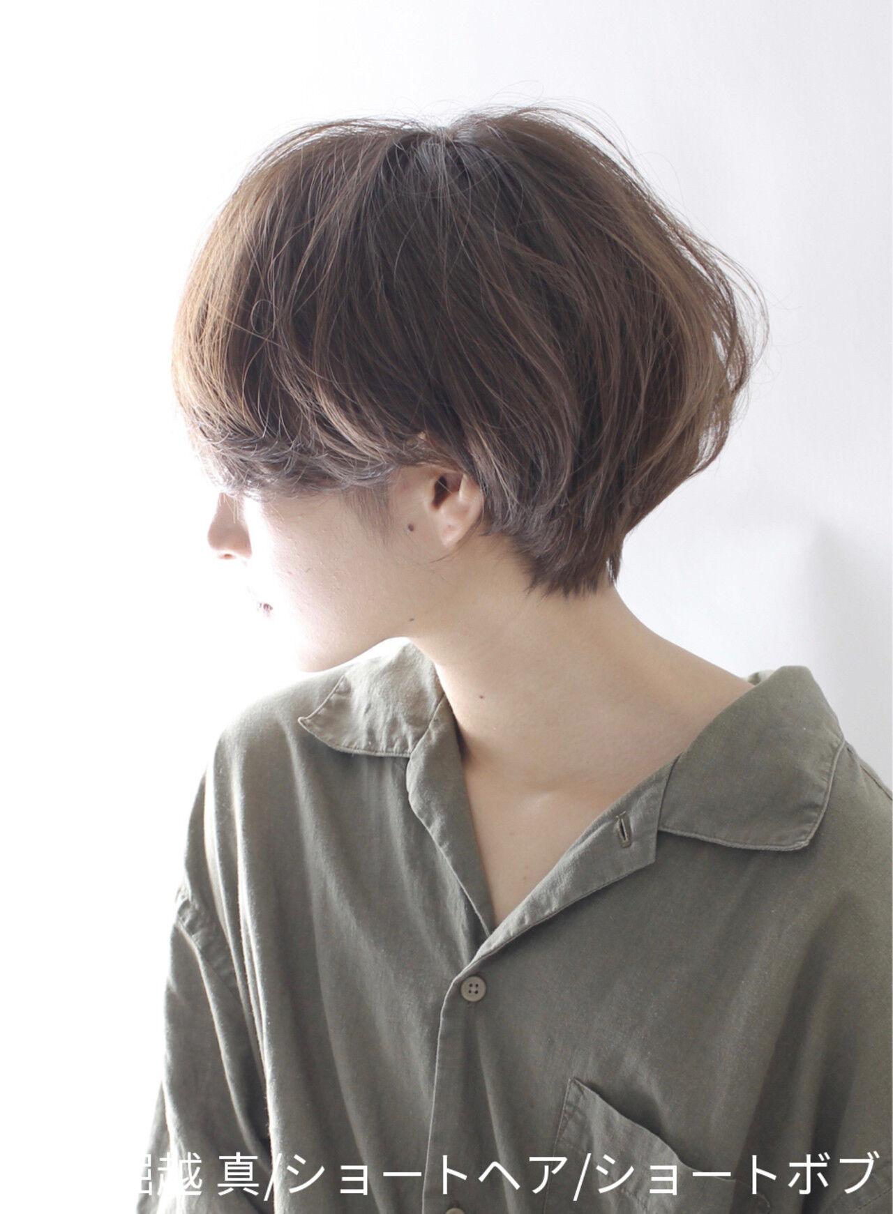 ショート 辺見えみり うざバング 大人かわいいヘアスタイルや髪型の写真・画像