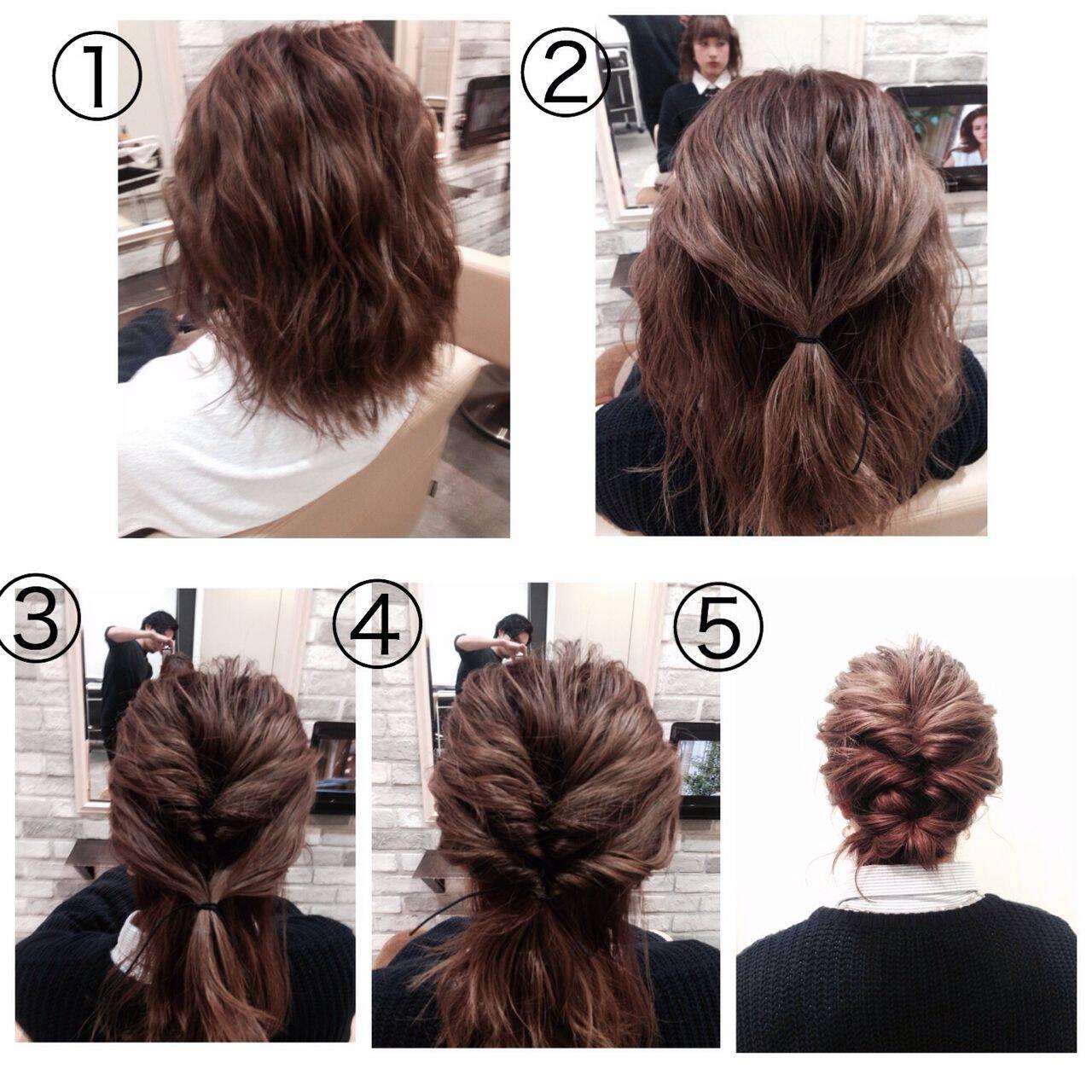 アップスタイル ヘアアレンジ ナチュラル 大人かわいいヘアスタイルや髪型の写真・画像