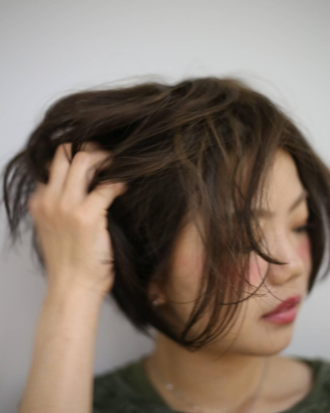 秋 モード 透明感 かわいいヘアスタイルや髪型の写真・画像