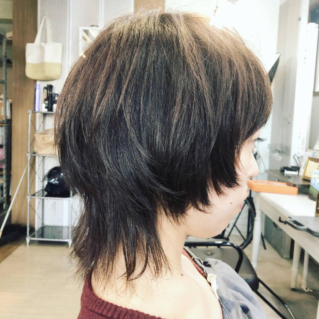 マッシュウルフ ストリート ウルフ ネオウルフヘアスタイルや髪型の写真・画像