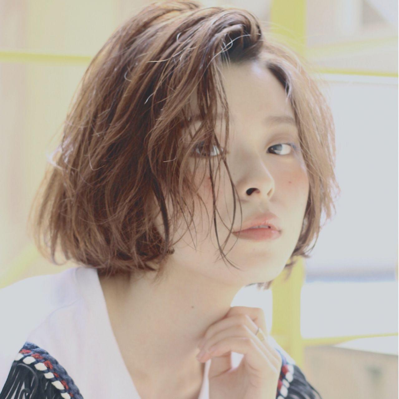 ストリート 小顔 似合わせ 大人かわいいヘアスタイルや髪型の写真・画像