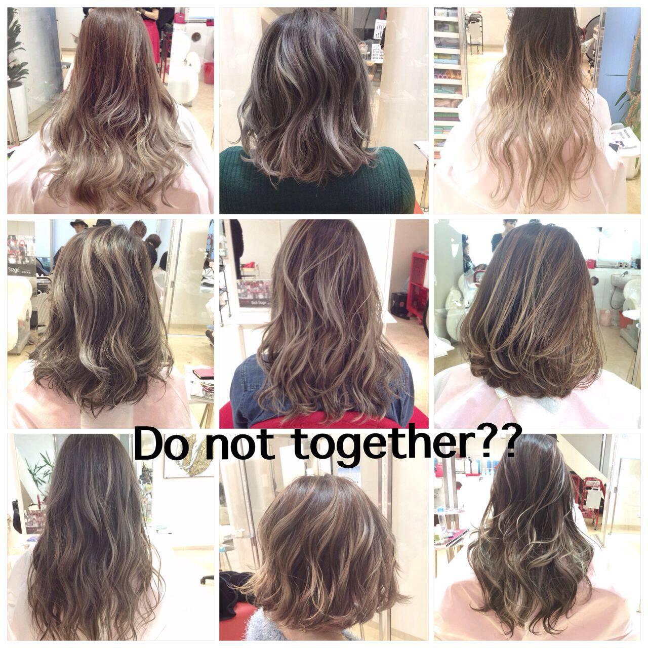 アッシュ ブラウンベージュ 黒髪 ガーリーヘアスタイルや髪型の写真・画像
