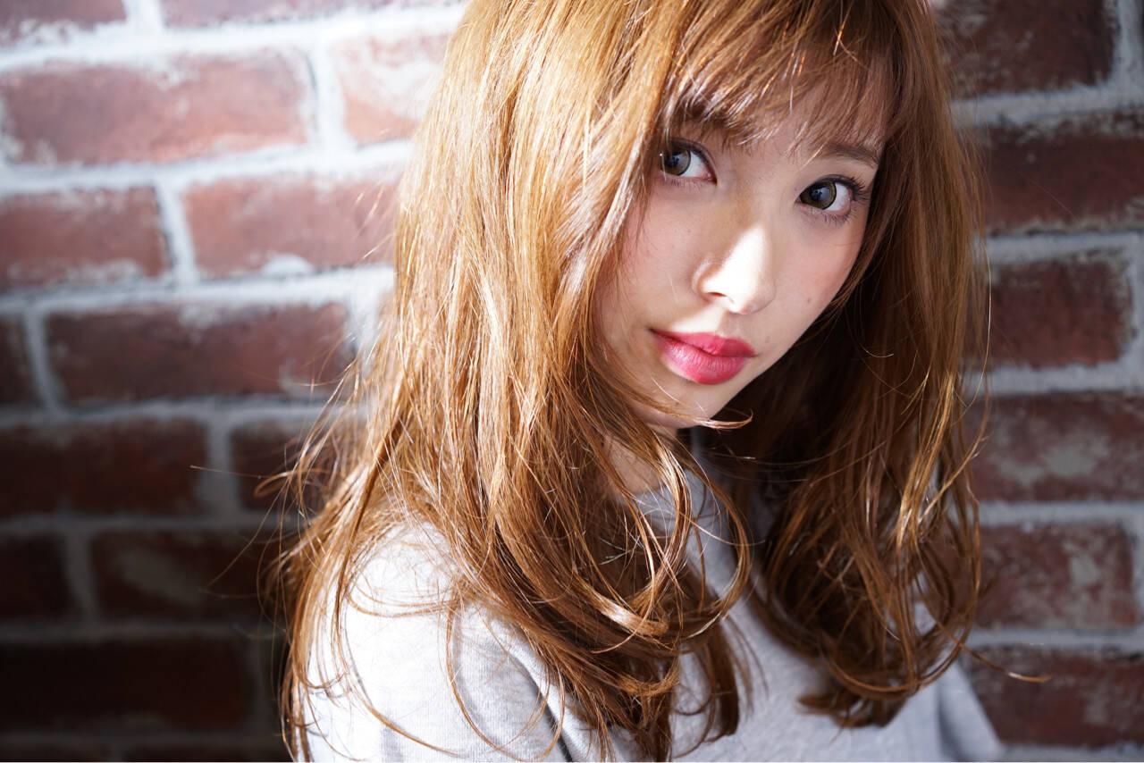 アッシュ 外国人風 ゆるふわ ストリートヘアスタイルや髪型の写真・画像