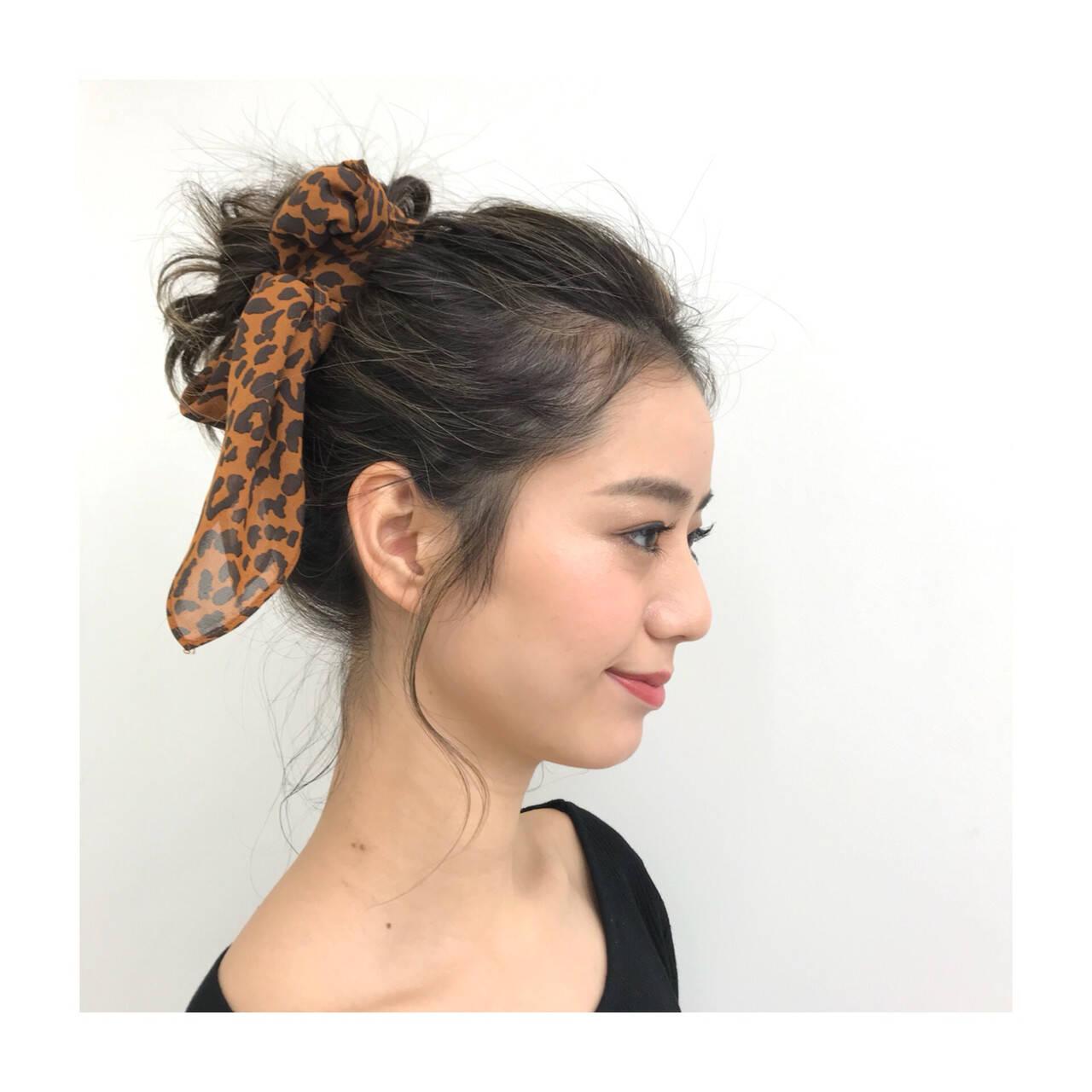フェミニン ロング コントラストハイライト ジェシカライツカラーヘアスタイルや髪型の写真・画像
