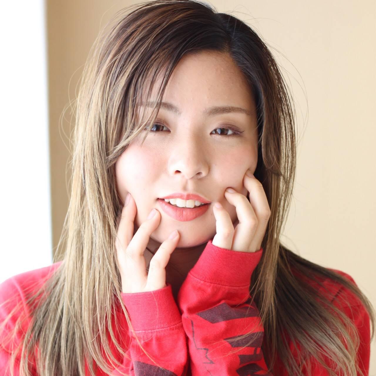 アディクシーカラー ダブルカラー 外国人風カラー ストリートヘアスタイルや髪型の写真・画像
