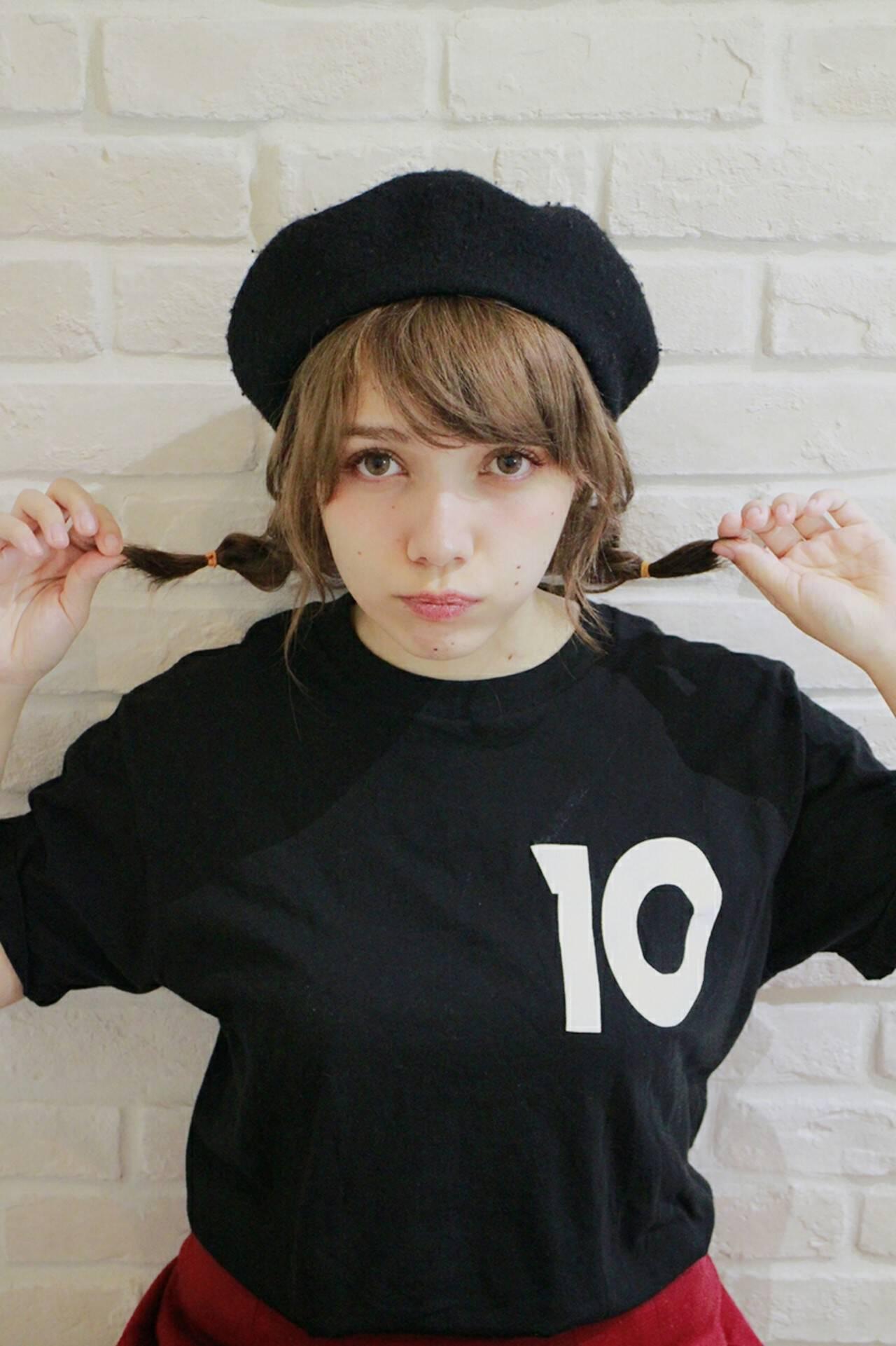 ショート 大人女子 ゆるふわ ベレー帽ヘアスタイルや髪型の写真・画像