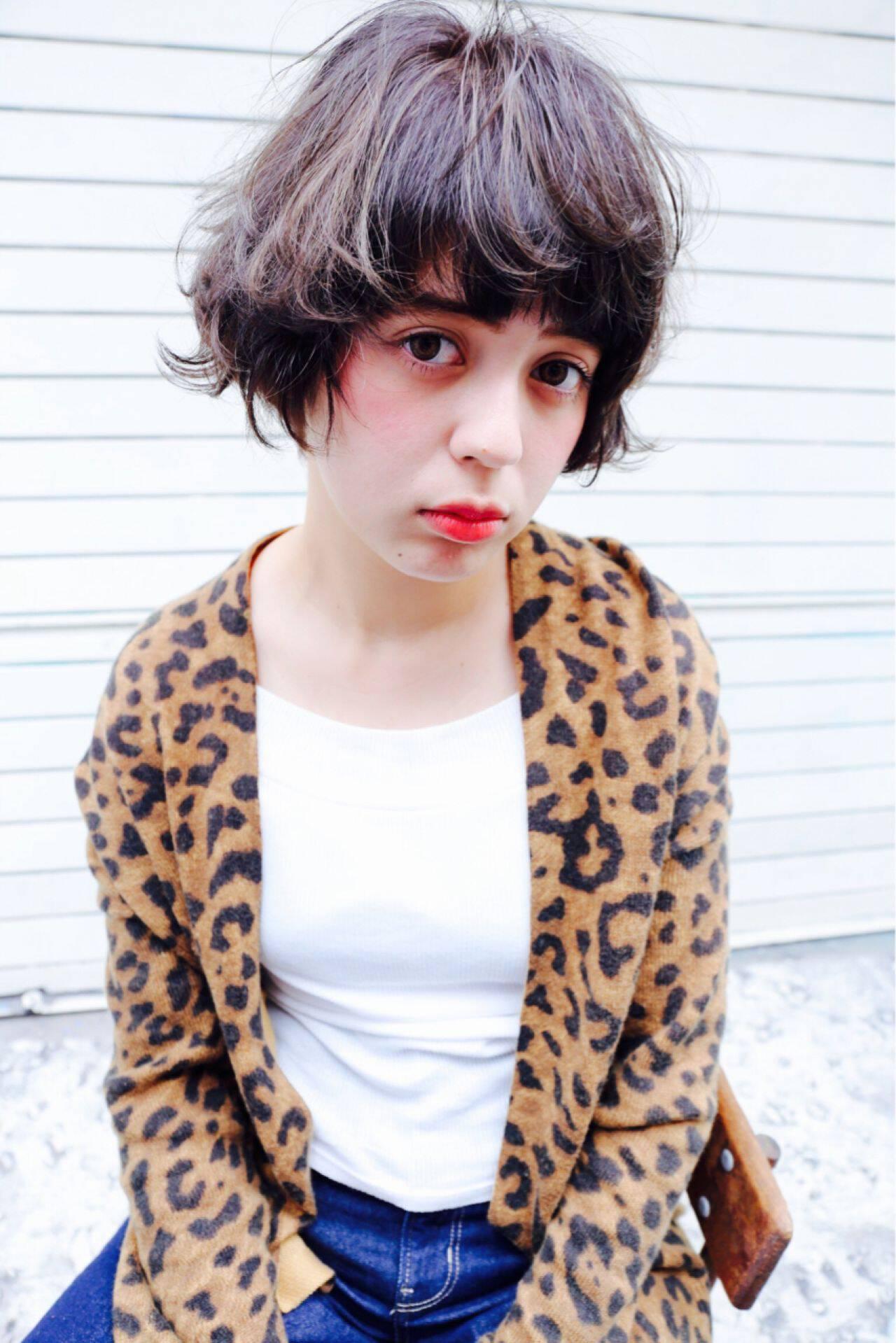 ゆるふわ 愛され モテ髪 マルサラヘアスタイルや髪型の写真・画像