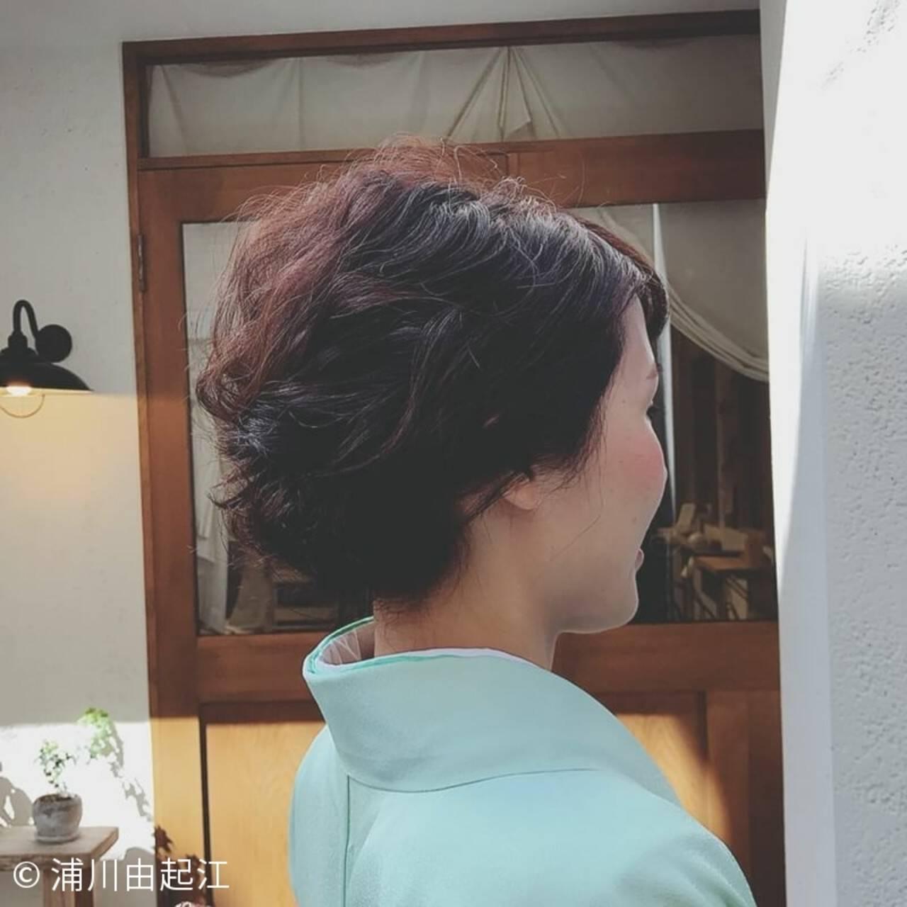 ヘアアレンジ ナチュラル デート パーティヘアスタイルや髪型の写真・画像