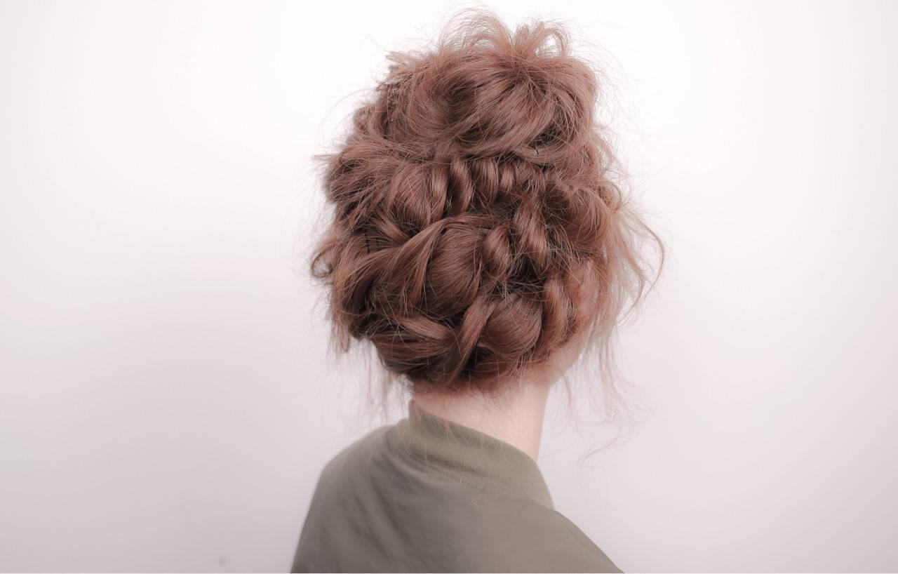 ミディアム ハイライト ショート ヘアアレンジヘアスタイルや髪型の写真・画像