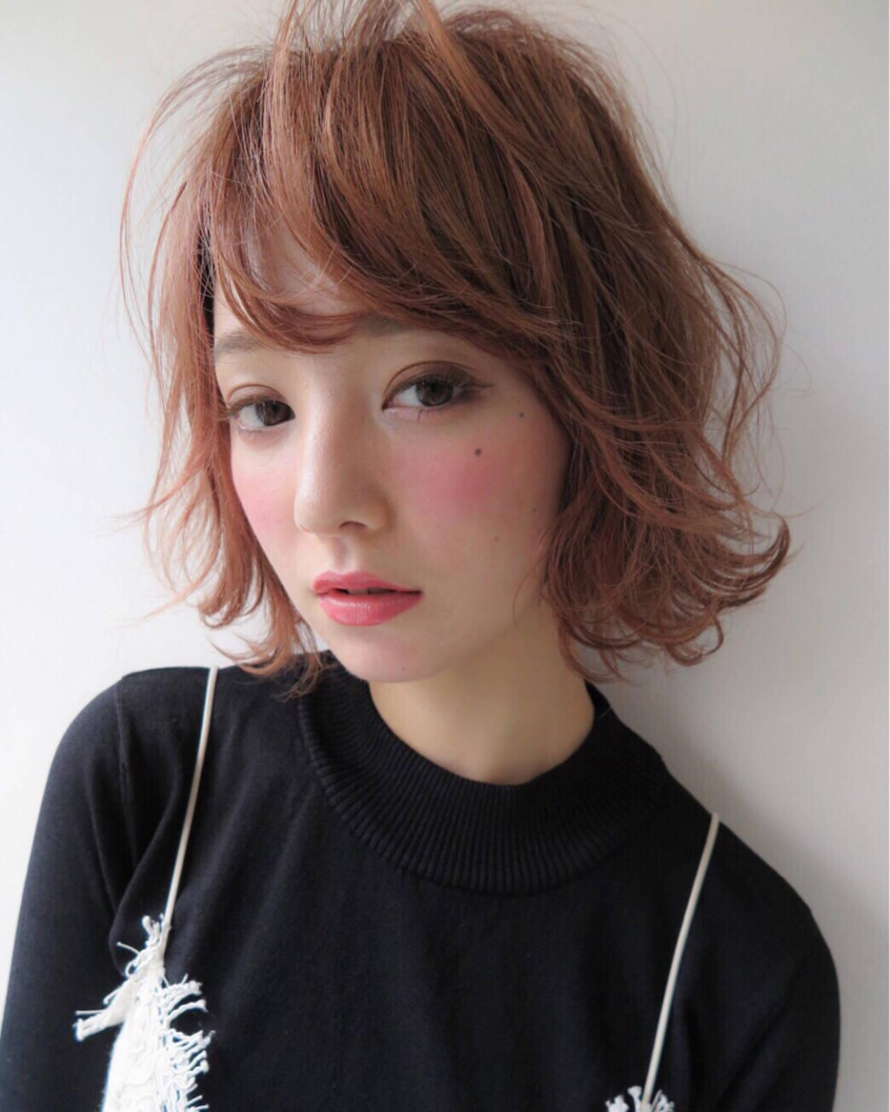 アンニュイ 色気 ストリート ピュアヘアスタイルや髪型の写真・画像