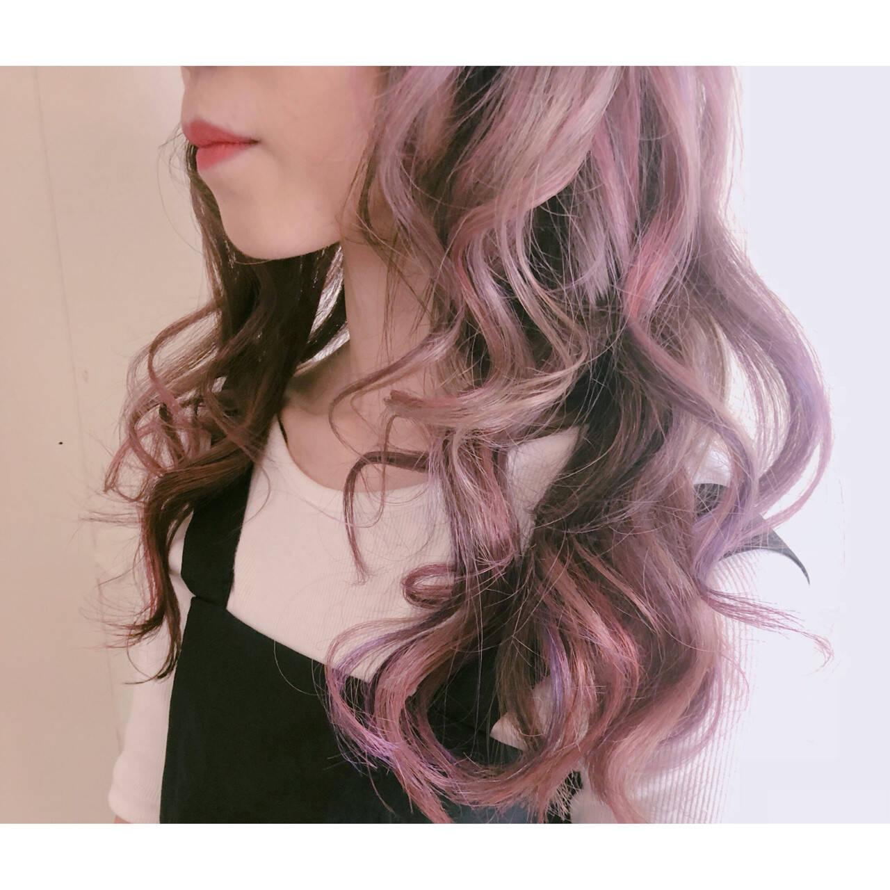 透明感 ハイトーン 簡単ヘアアレンジ フェミニンヘアスタイルや髪型の写真・画像