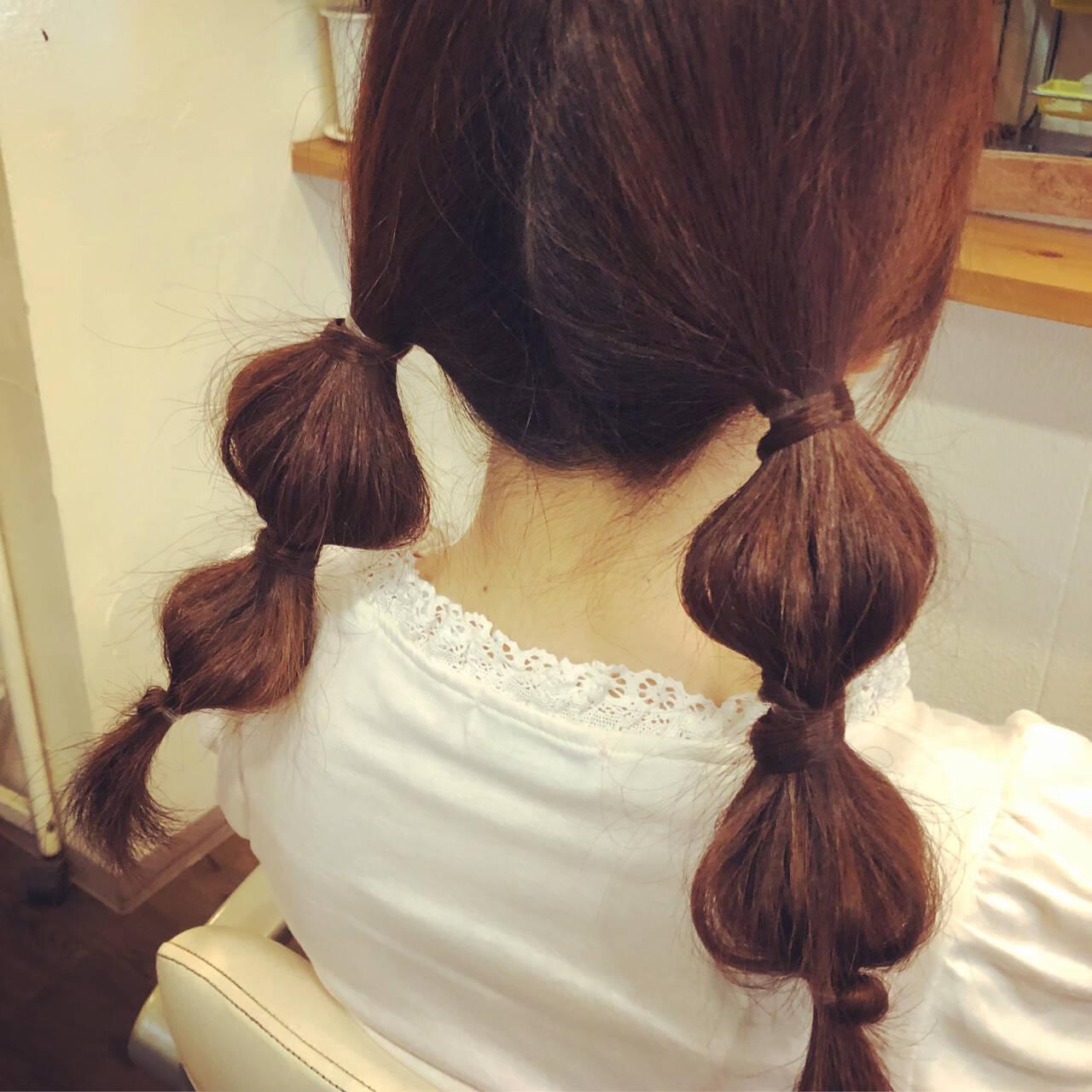 ヘアアレンジ ロング ガーリーヘアスタイルや髪型の写真・画像