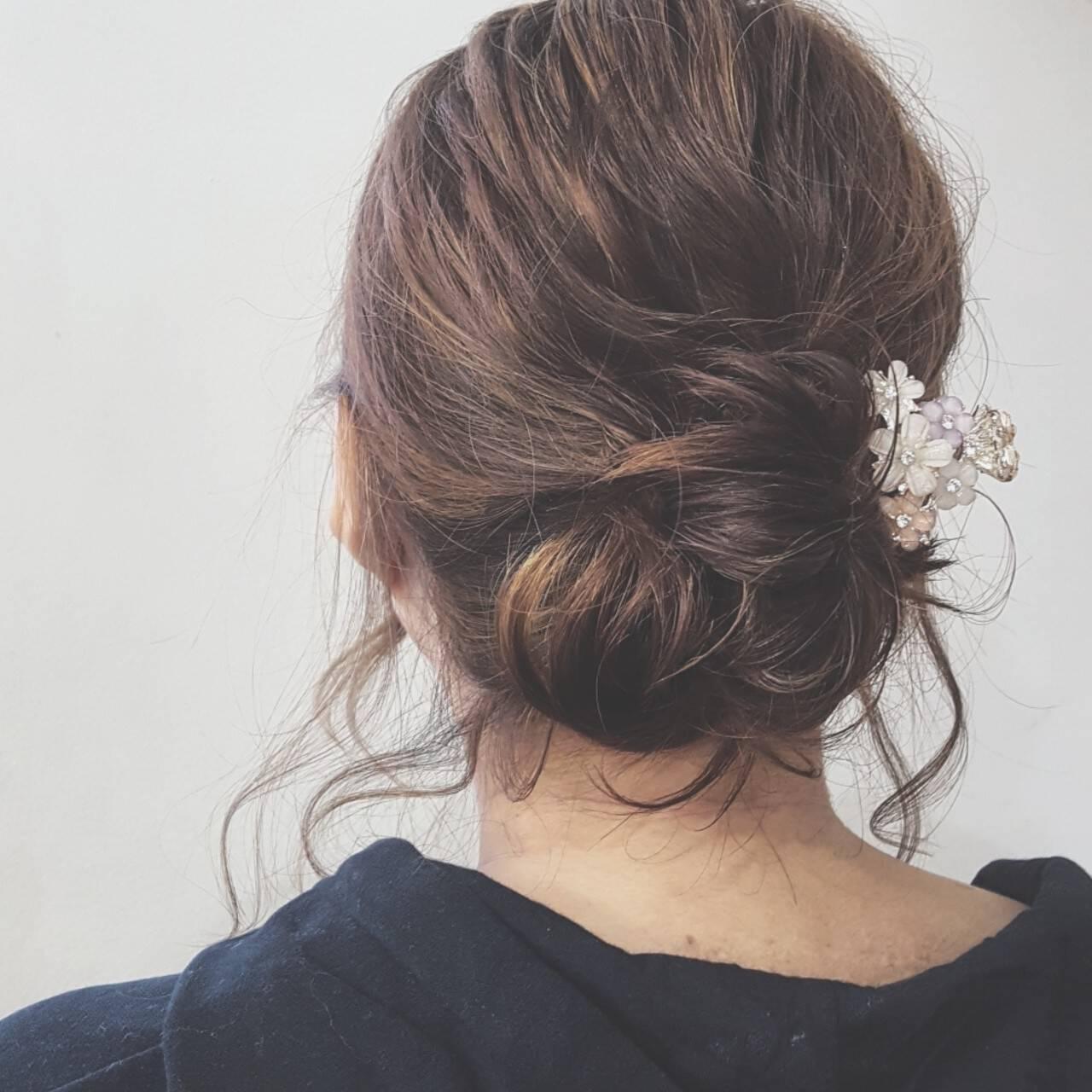 ボブ ショート 結婚式 ヘアアレンジヘアスタイルや髪型の写真・画像