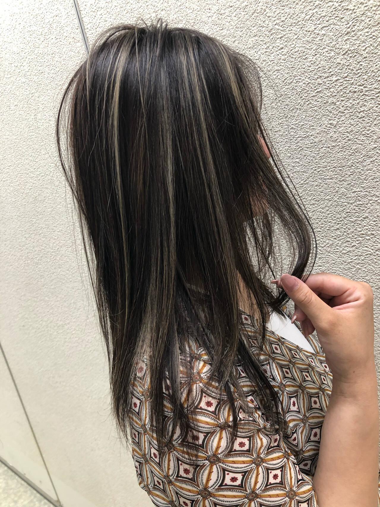 ヘアアレンジ オフィス ロング ナチュラルヘアスタイルや髪型の写真・画像