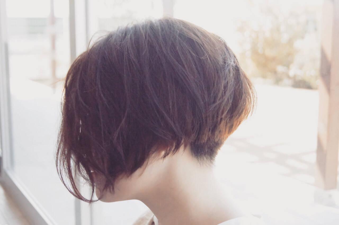 大人女子 ナチュラル ボブ パーマヘアスタイルや髪型の写真・画像