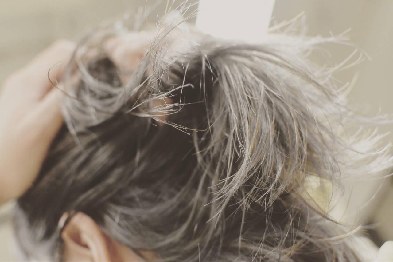 外国人風カラー 夏 涼しげ 秋ヘアスタイルや髪型の写真・画像