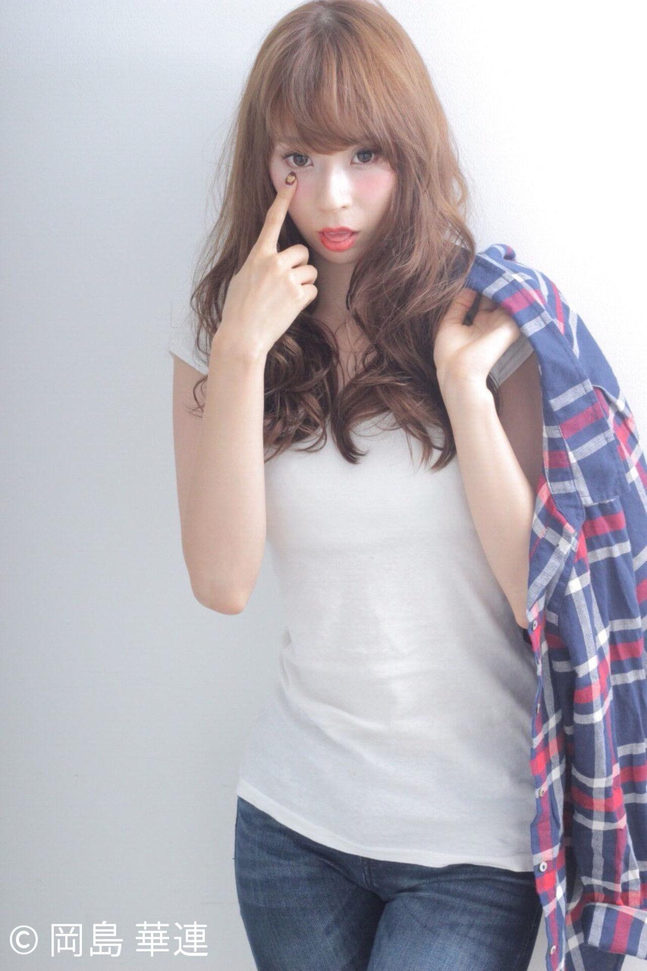 大人女子 ゆるふわ ロング 大人かわいいヘアスタイルや髪型の写真・画像