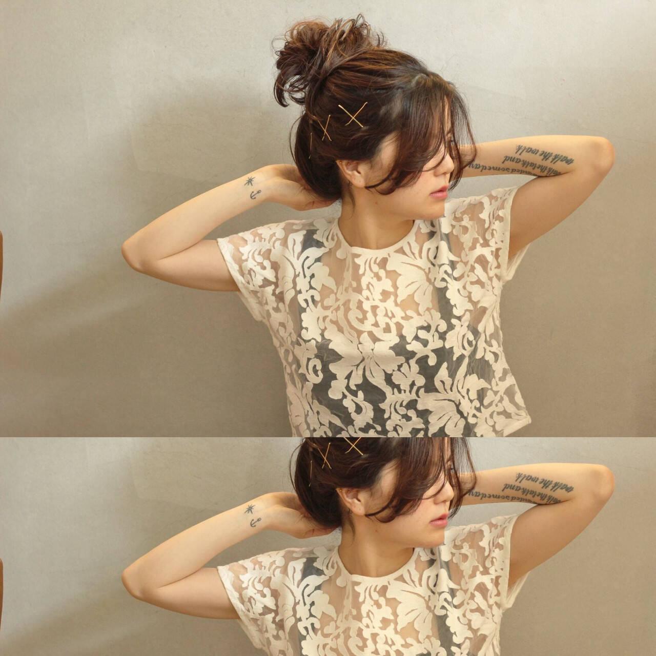 外国人風 ブラウン 大人かわいい ナチュラルヘアスタイルや髪型の写真・画像
