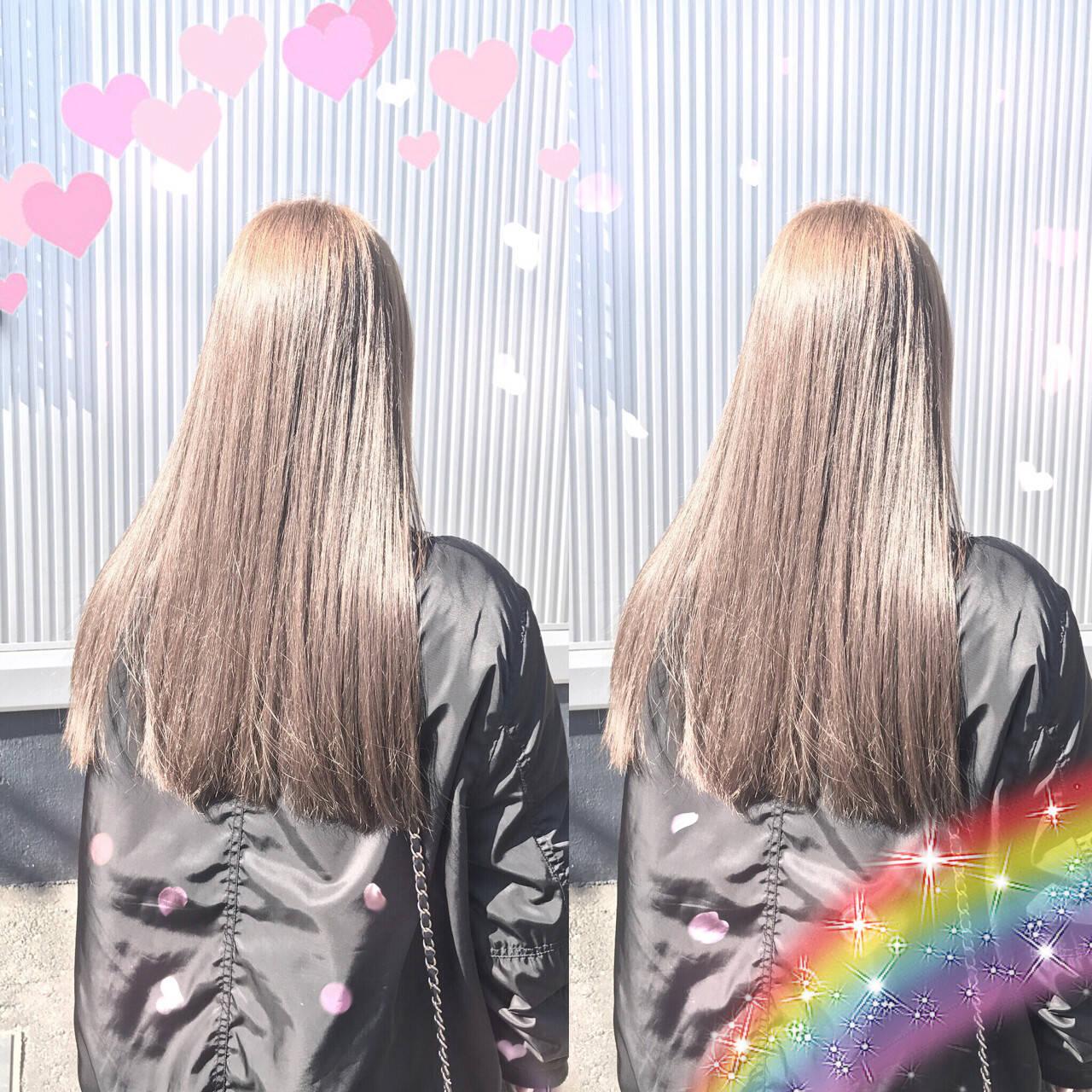 冬 外国人風 アッシュベージュ アッシュヘアスタイルや髪型の写真・画像
