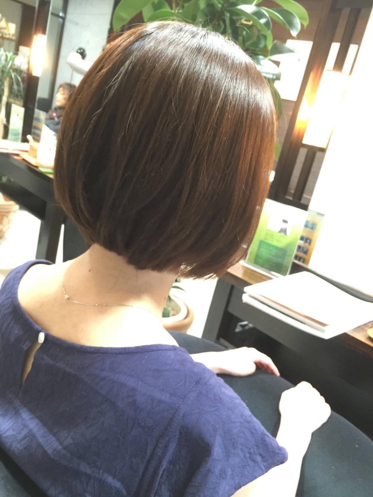 簡単ヘアアレンジ ショート ナチュラル 似合わせヘアスタイルや髪型の写真・画像