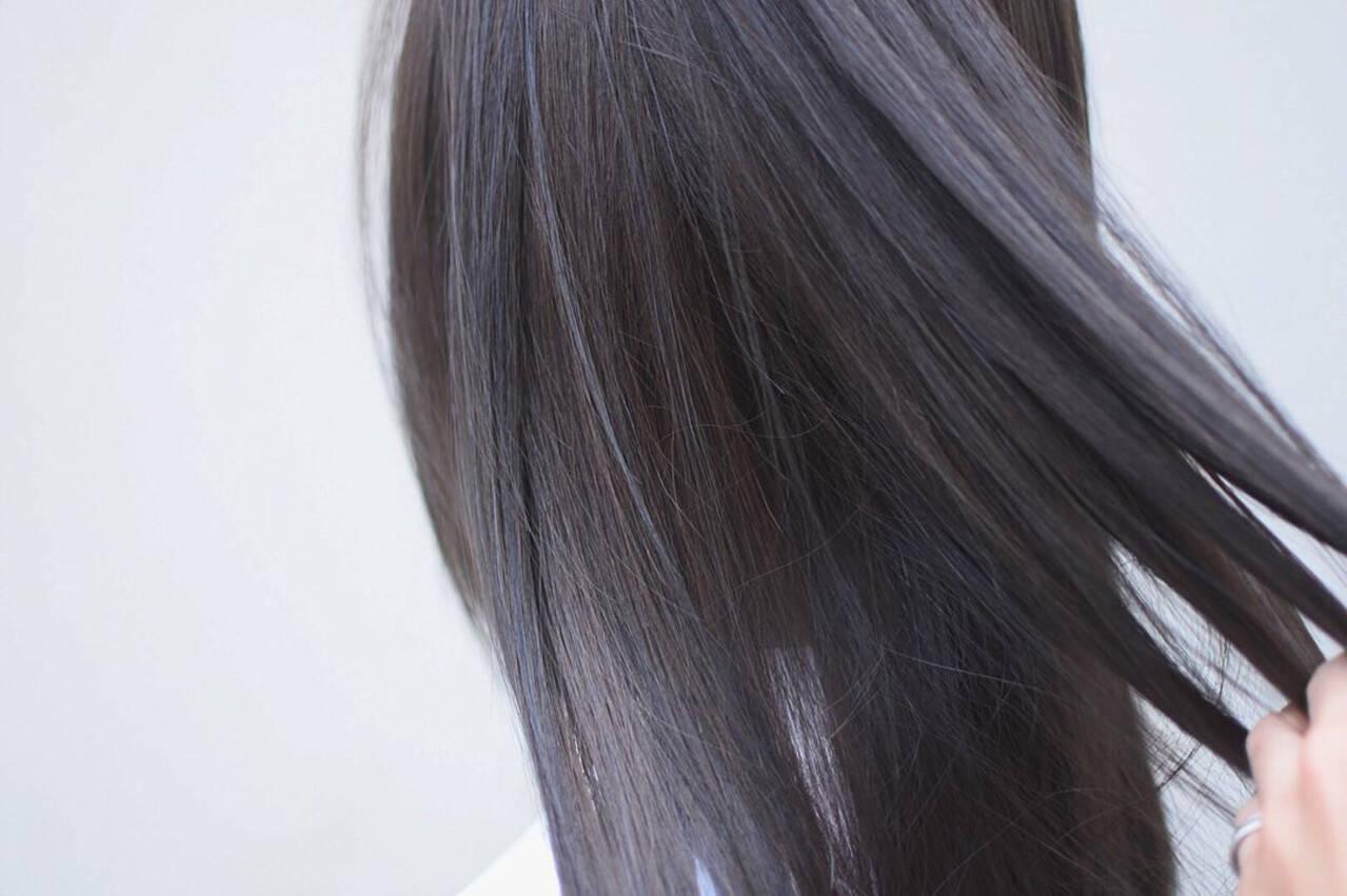 ハイライト グラデーションカラー インナーグレー インナーカラーヘアスタイルや髪型の写真・画像