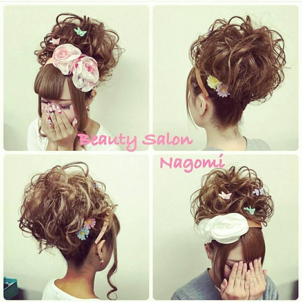 アップスタイル 結婚式 ロング 振袖ヘアスタイルや髪型の写真・画像
