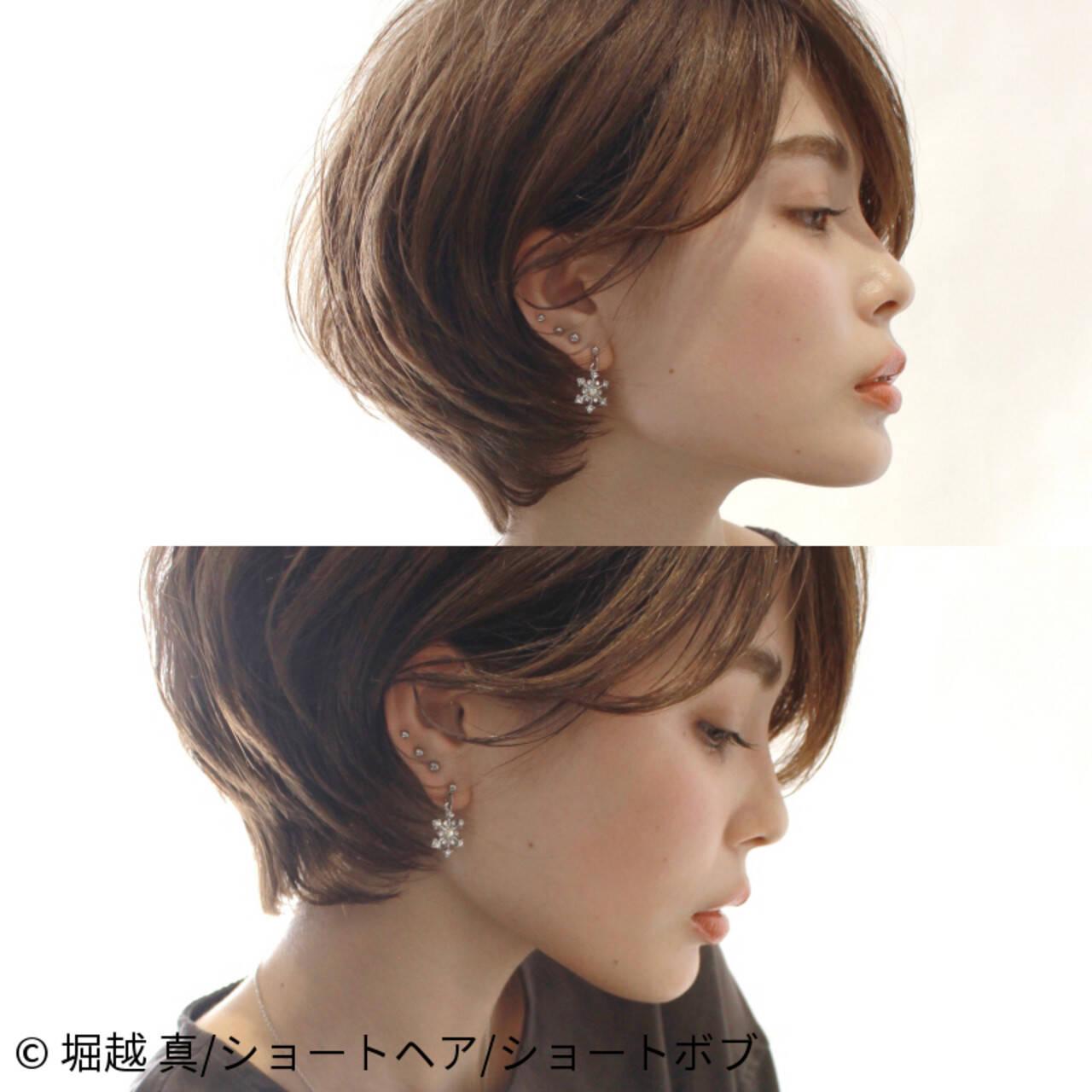 辺見えみり ショート ナチュラル アンニュイほつれヘアヘアスタイルや髪型の写真・画像