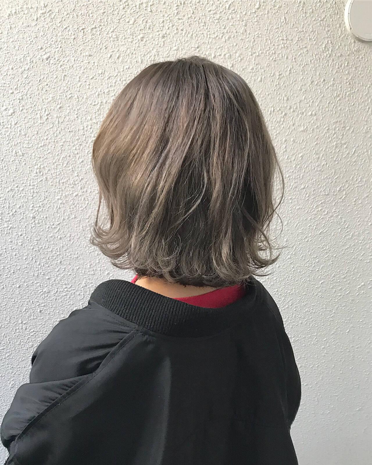 外国人風カラー 外国人風 ボブ ダブルカラーヘアスタイルや髪型の写真・画像