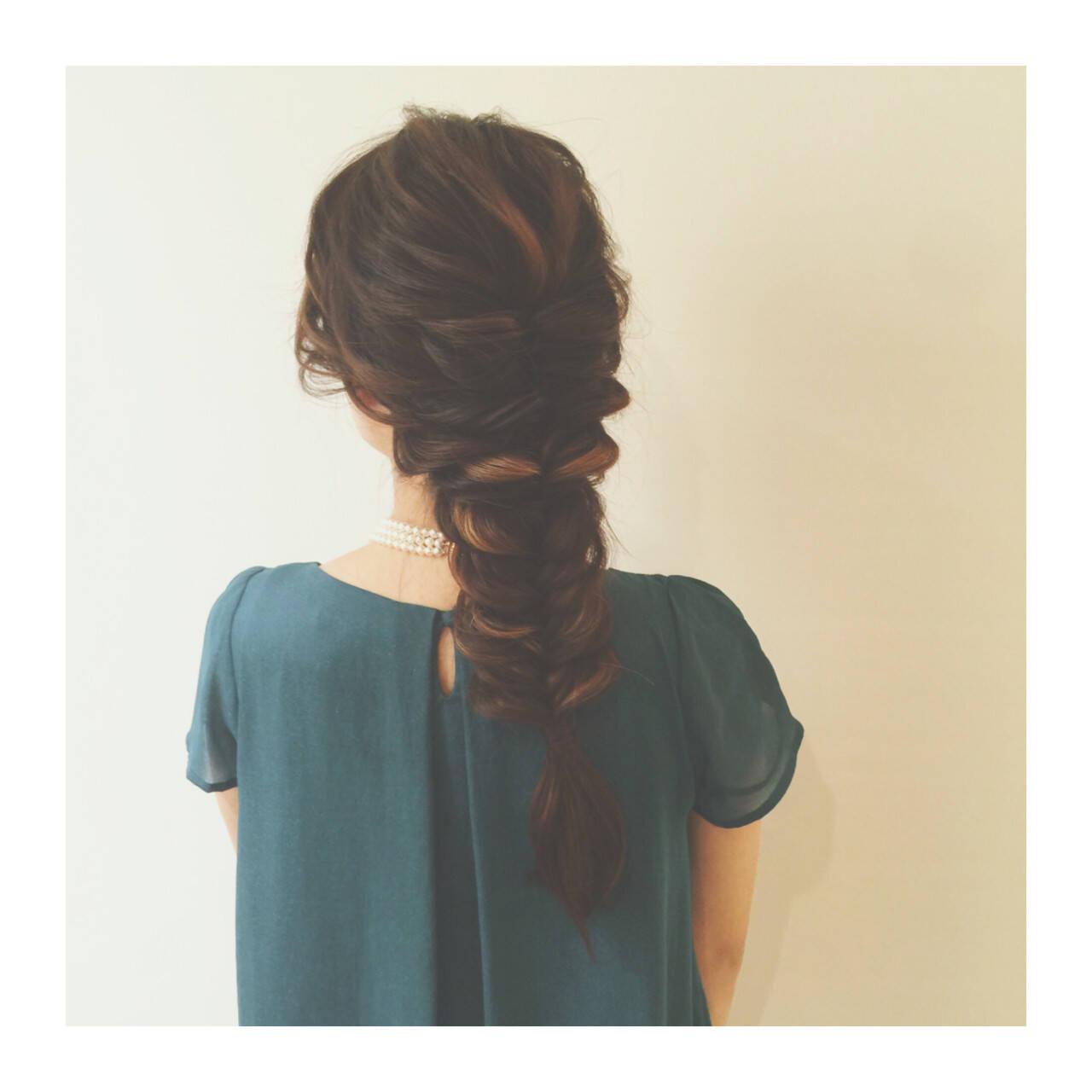 ショート ロング ハーフアップ ヘアアレンジヘアスタイルや髪型の写真・画像