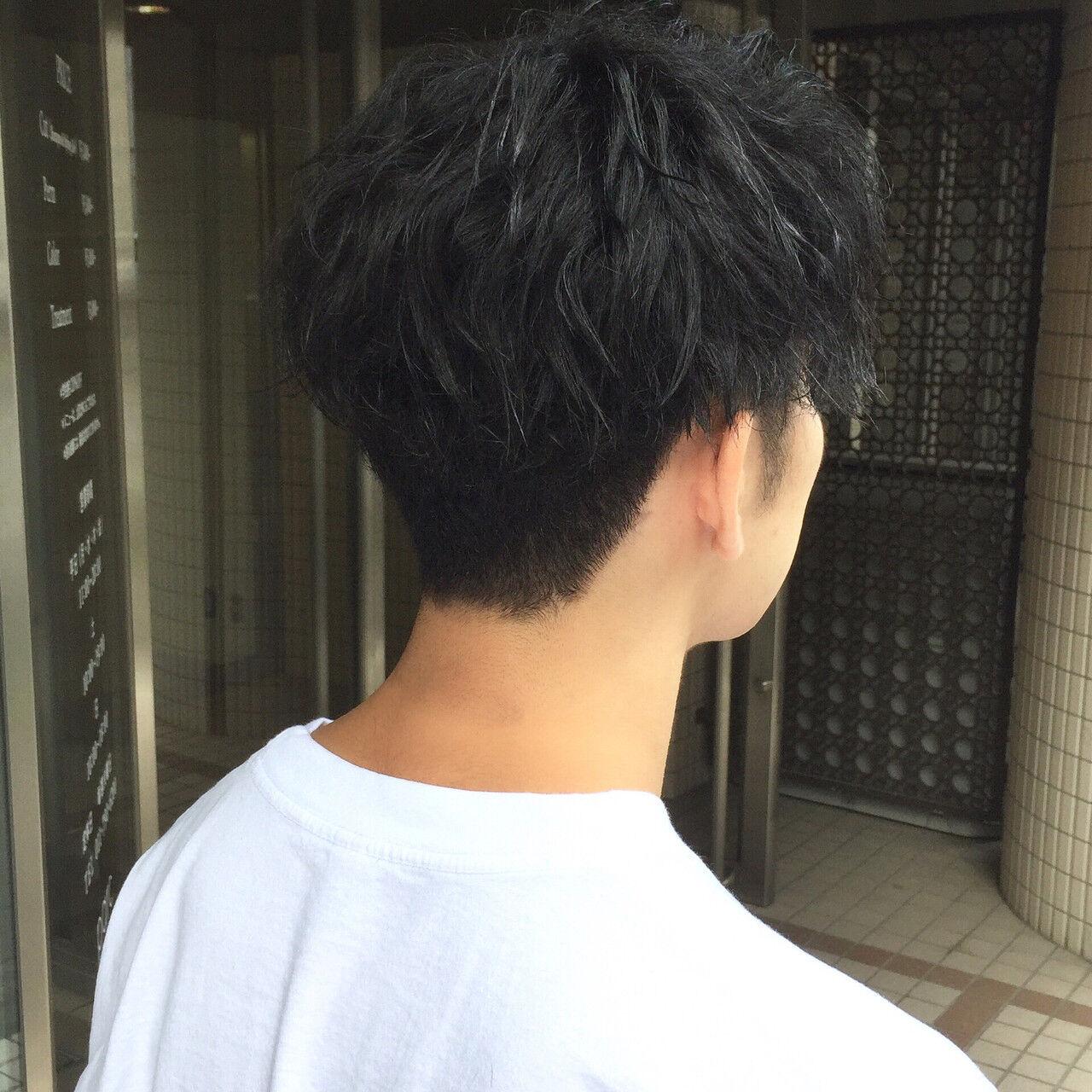 メンズ メンズショート ストリート ショートヘアスタイルや髪型の写真・画像