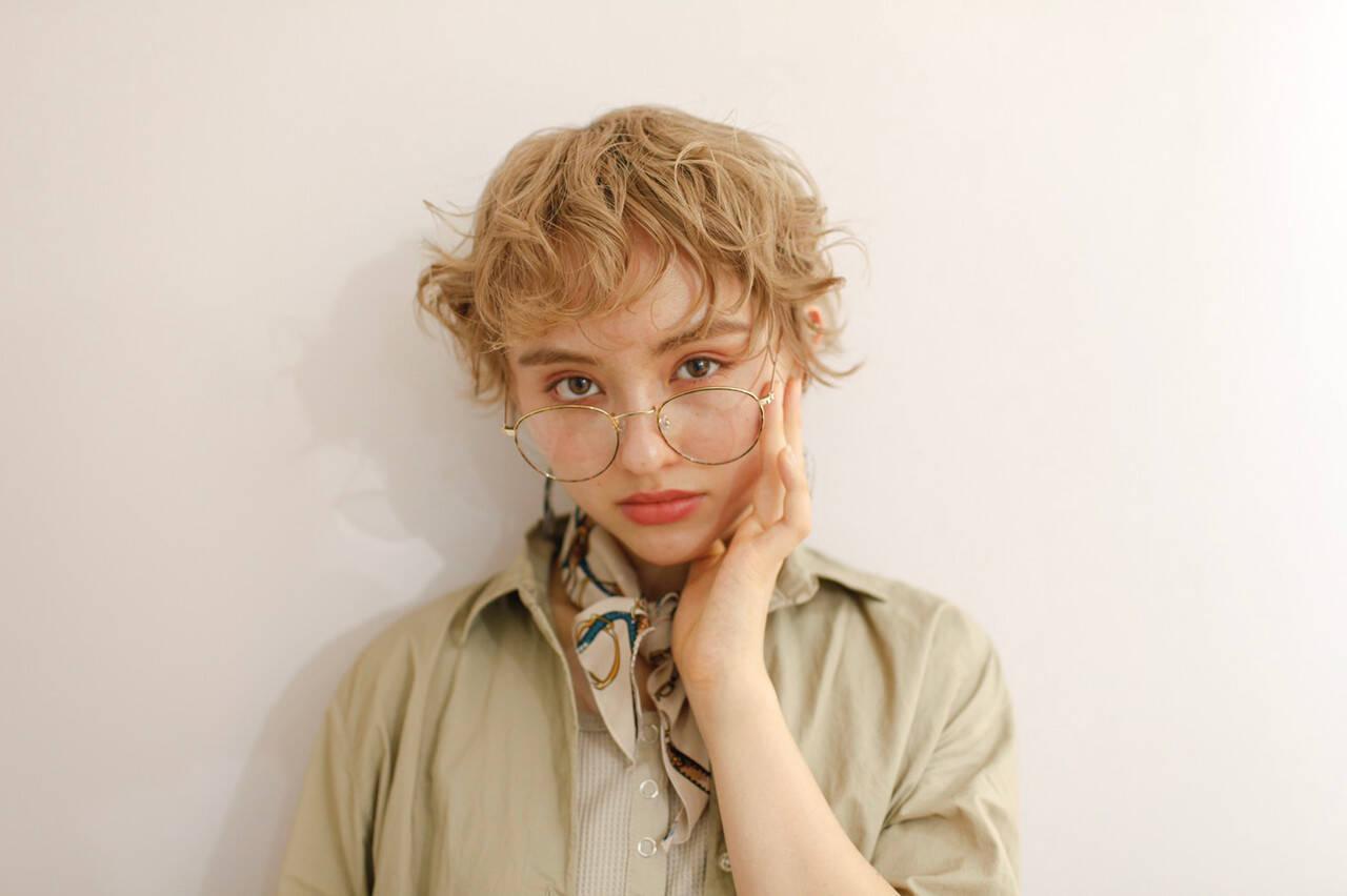 ショートヘア ベリーショート ショートボブ ミディアムヘアスタイルや髪型の写真・画像