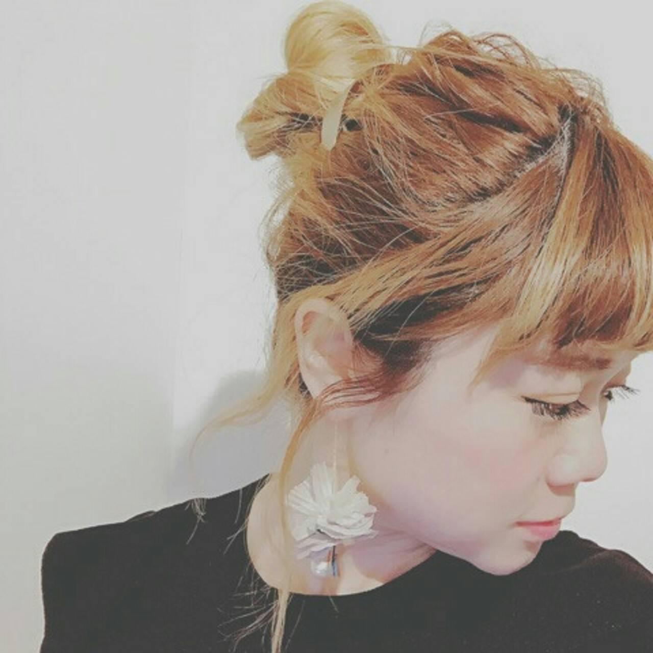 グラデーションカラー 外国人風 ショート ヘアアレンジヘアスタイルや髪型の写真・画像