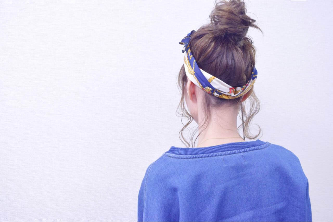 簡単ヘアアレンジ ボブ ナチュラル ヘアアレンジヘアスタイルや髪型の写真・画像