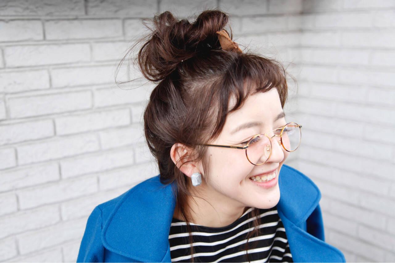 ヘアアレンジ ストリート 簡単 ロングヘアスタイルや髪型の写真・画像